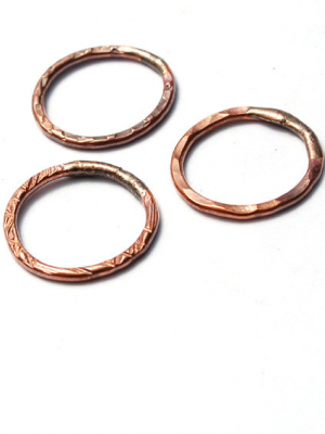 Ring-A-Round / Handmade Copper Rings / made when ordered