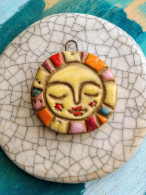 Sunshine Day Pendant / Made To Order