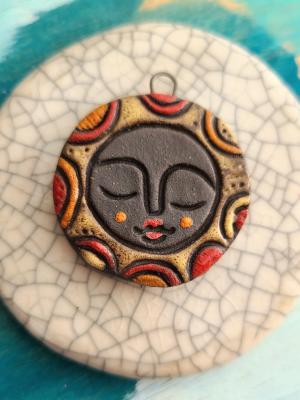 Sun Goddess Pendant / Made To Order
