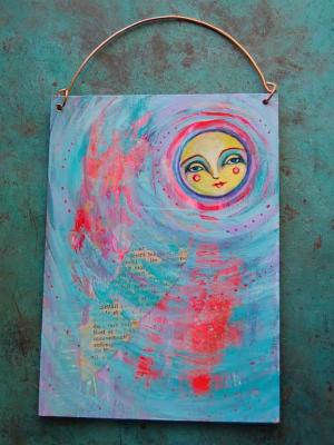 Sunshine Daydream / Mixed Media Painting