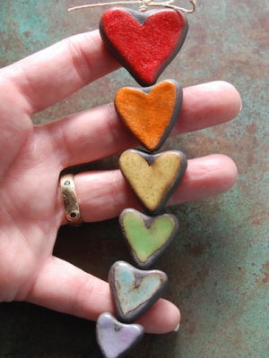 Rainbow Love / Gaea Handmade Made To Order