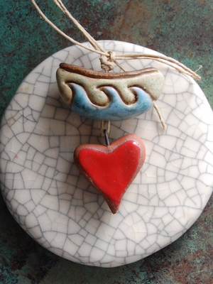 Love Boat / Ceramic Bead Set