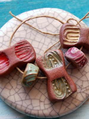 Flutter  / Ceramic Bead Set